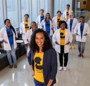 Janiya Mitnaul Williams is the Program Director of the Pathway 2 Human Lactation Training Program at N.C. A&amp;T SU.<i> photo credit: Made In Greensboro</i>